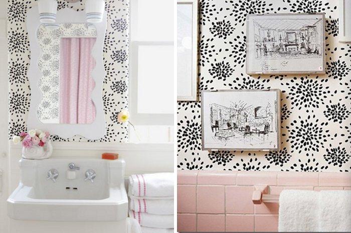 Lovely bathroom mirror - Small Room Ideas - Interior Design and Decoration