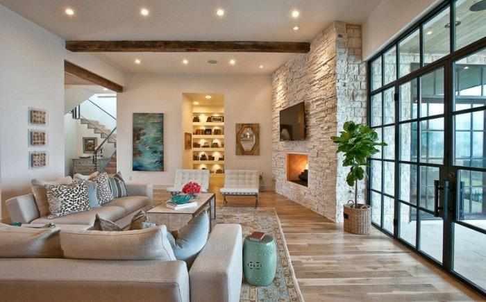 The Impressive living room Interior Design of a Luxury Home