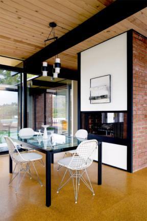 Mid-century modern dining room design- Dream Beach House