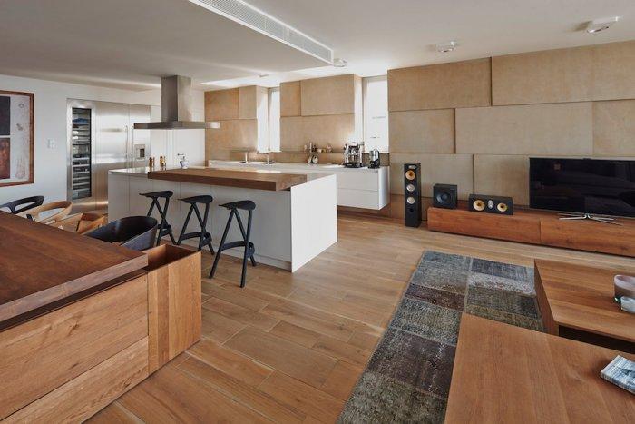 Cozy Minimalist house Interior Design in Bratislava