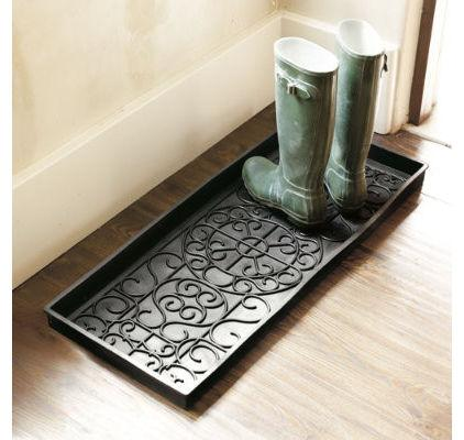Rubber Boot Tray - Umbrella Stands Ideas for your Contemporary Home