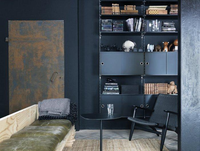 Light and Stable Shelving Systems Completing the Furniture