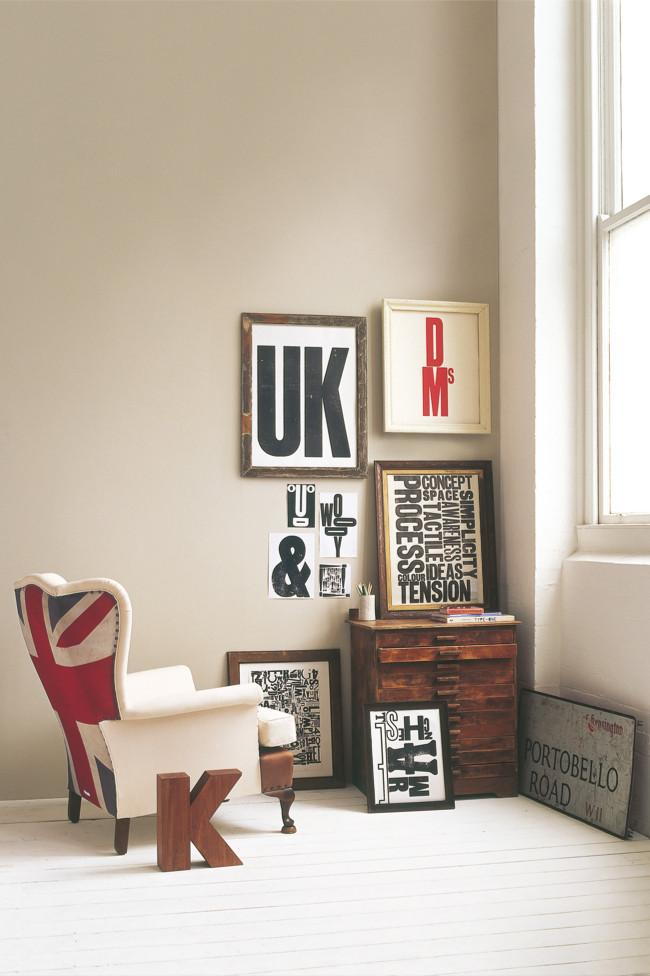 Simple and elegant wall letter posters - Amazing Home Decorating Style Trends and Ideas