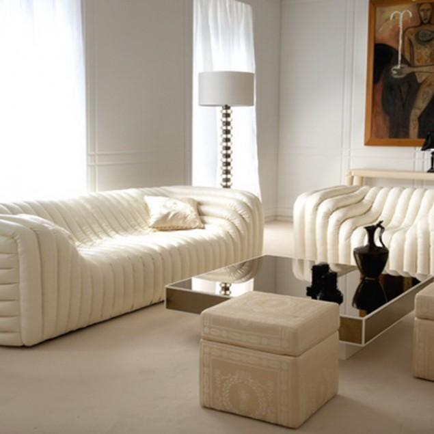 Luxury Sofa Furniture Design - Lomond Glass by Versace