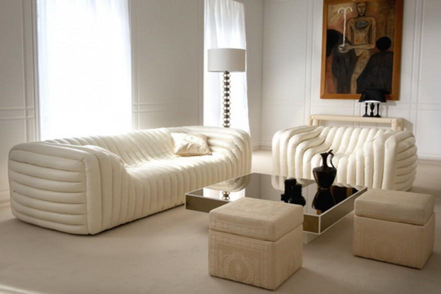 Luxury Sofa Furniture Design - Lomond Glass by Versace
