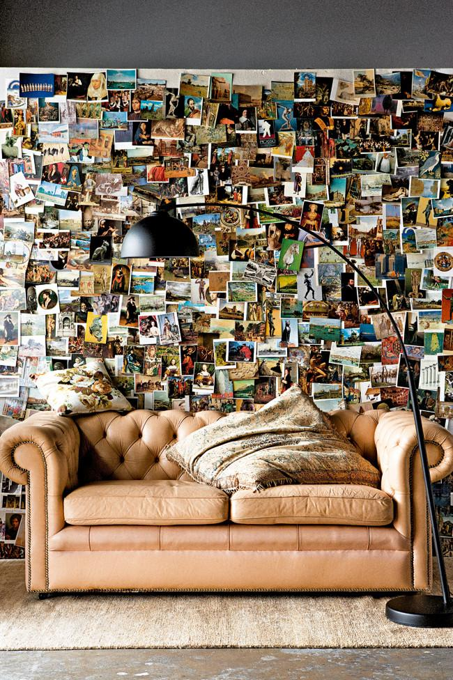 wall dcor made of travel photos amazing home decorating style trends and ideas