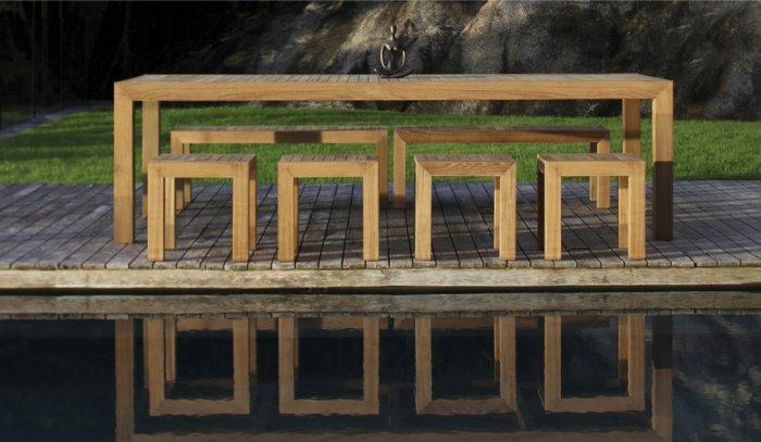 Contemporary Garden Furniture and Decoration Ideas