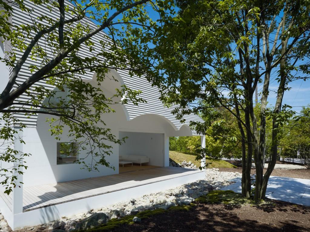 Japanese house with beautiful gardening Niigata, Japan