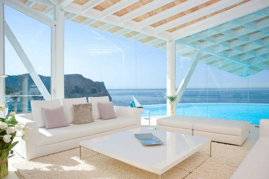 A beautiful view over the Mediterranean sea - Spanish Luxury Villa in Mallorca