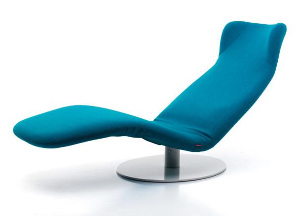 Adjustable Blue Modern Lounge Chair Design by Mussi