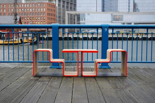 Boston streets bench design - Twofold Bench Design by After Architecture - A Home/Street Seat