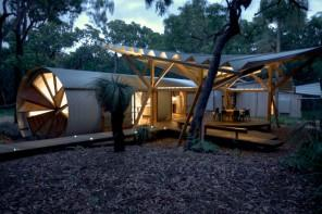 Stylish Forest Family Camping Retreat in Australia