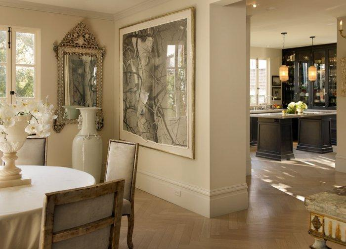 Classical interior design of a house in in Ashbury Heights, San Francisco
