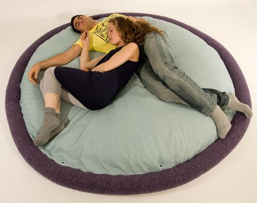 Comfortable soft floor bed - Exciting and Creative Sitting Furniture Design Examples
