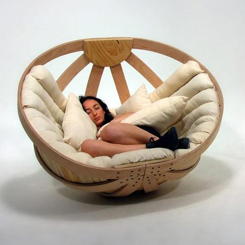 Comfortable soft furniture, perfect for naps - Exciting and Creative Sitting Furniture Design Examples