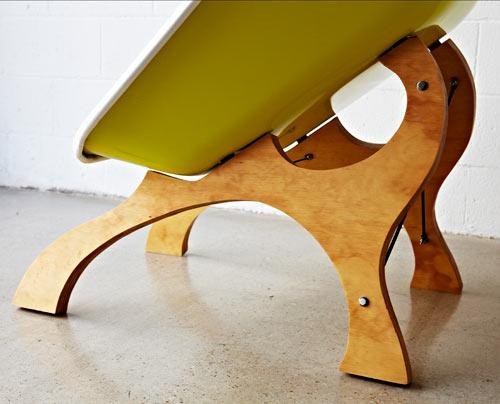 Contemporary chair design by Karl Sanford