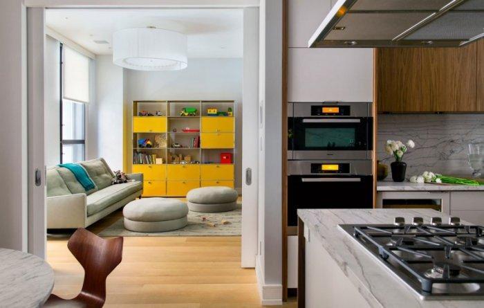 Contemporary Family Apartment in Manhattan, New York