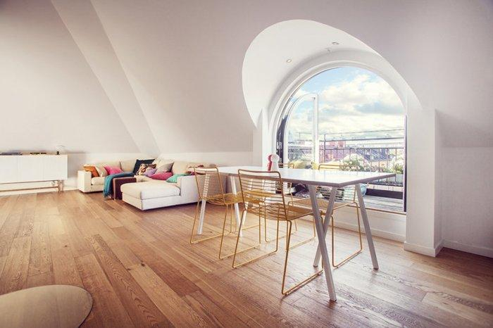 Contemporary Loft Interior Design Solutions