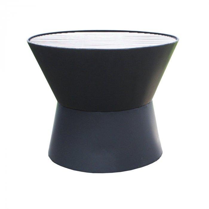 Contemporary Steel Phantom Firepit - Contemporary Garden Furniture and Decoration Ideas