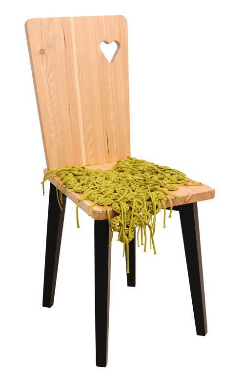 Contemporary wooden chair design - Cvetnoetno Furniture Collection