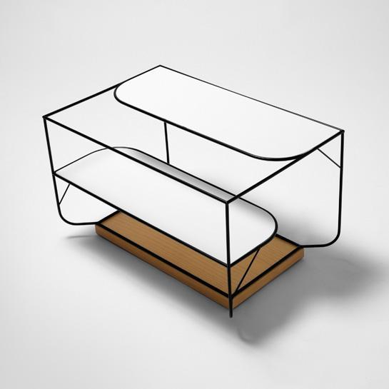 Creative floor shelf design - Unique and Creative Natural Collection by Alexandra Gonçalves