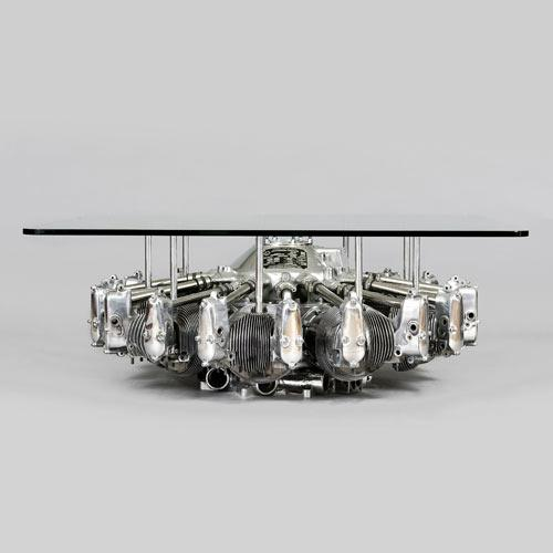 Creative home coffee table - The Engine Table