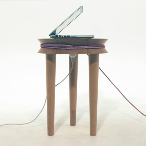 TransformableCreative small wooden table design by Joe Levy