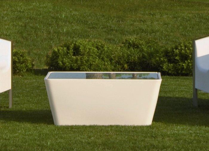 Cube Garden Coffee Table - Contemporary Garden Furniture and Decoration Ideas