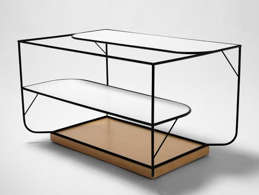Elegant home floor shelf - Unique and Creative Natural Collection by Alexandra Gonçalves