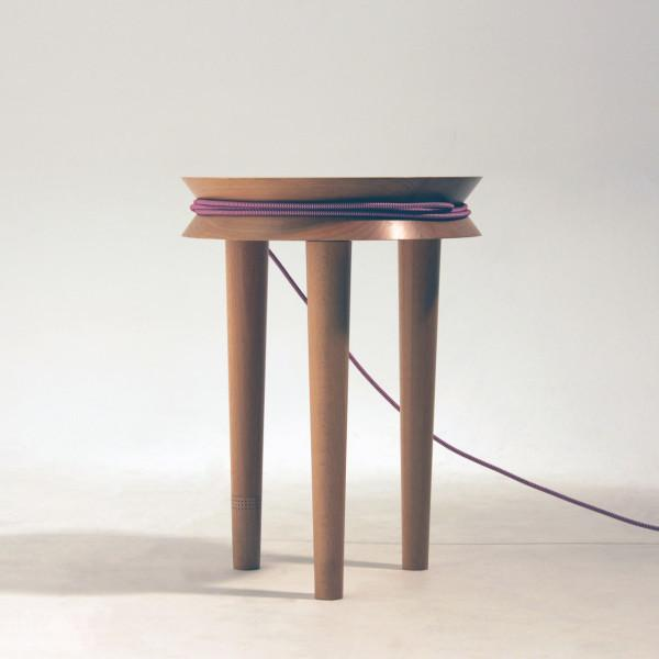 Extension cord stool - Transformable Wooden Chair Design - A Creative Idea by Joe Levy