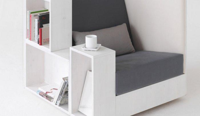 An Extraordinary Home Bookshelf - The Book Chair by Quiet and Call