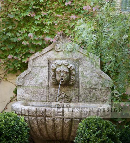 French Style Garden Design - A Parisian Courtyard
