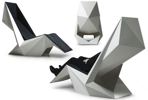 Furuturistic lounge chair - Exciting and Creative Sitting Furniture Design Examples