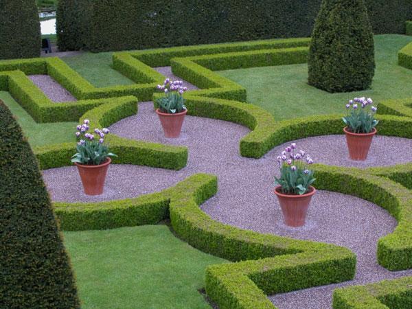 Shrubs decoration - Contemporary Garden Design Ideas for Summer 2013