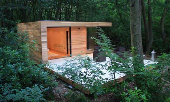 Garden Studio backyard office by in.it studios - 7 Contemporary Ideas