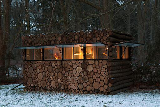 Home backyard office by Piet Hein Eek - 7 Contemporary Ideas