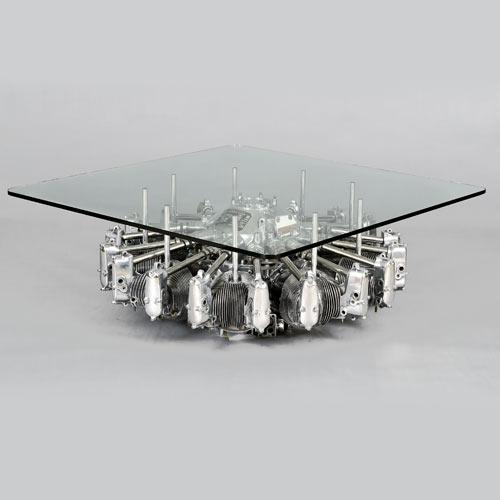 Home furniture for men - The Engine Coffee Table