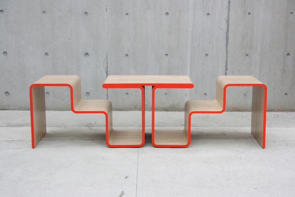 Home sitting bench design - Twofold Bench Design by After Architecture - A Home/Street Seat