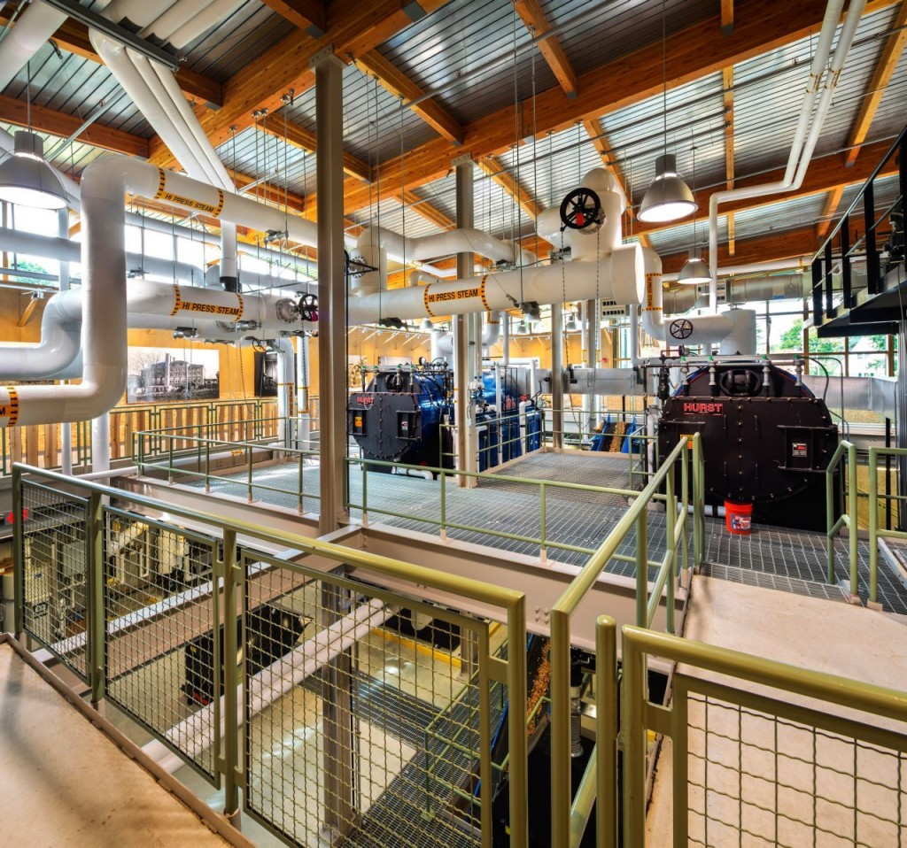 The inner architecture of a power plant - - The Ingenious Hotchkiss Biomass Power Plant