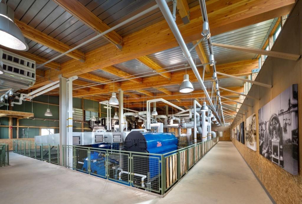 Inside the Hotchkiss Biomass Power Plant Design in USA