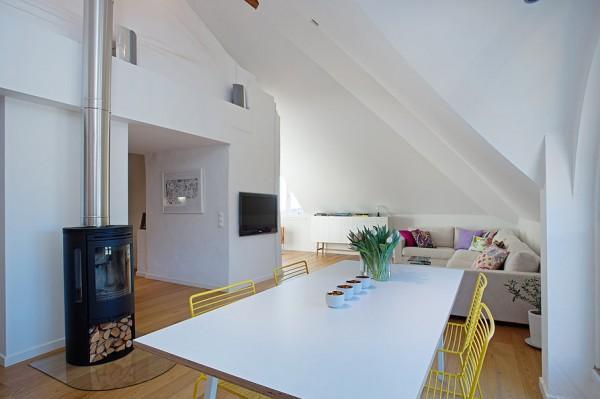 Contemporary Loft dining room design Solutions