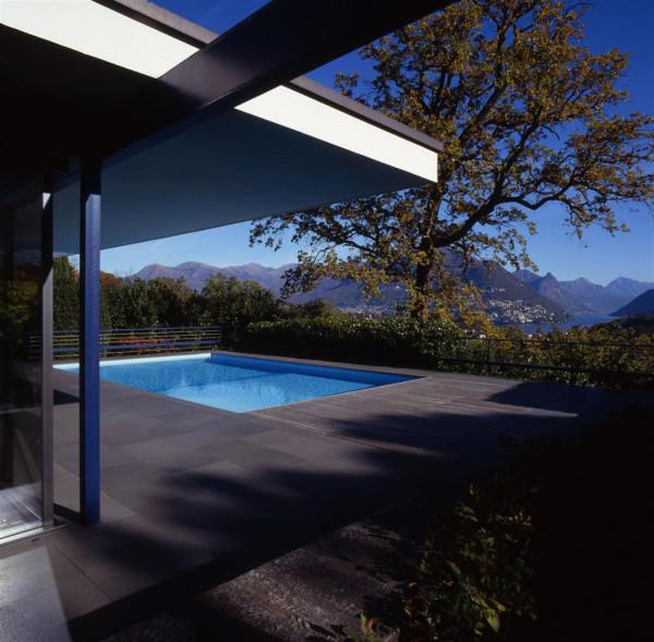 Luxury villa in the Swiss Alps - Minimalist Design by Bruno Klauser