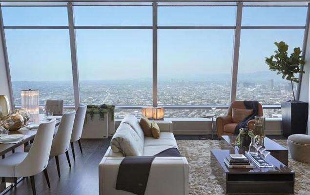 Luxury Los Angeles Penthouse in Ritz-Carlton Residences