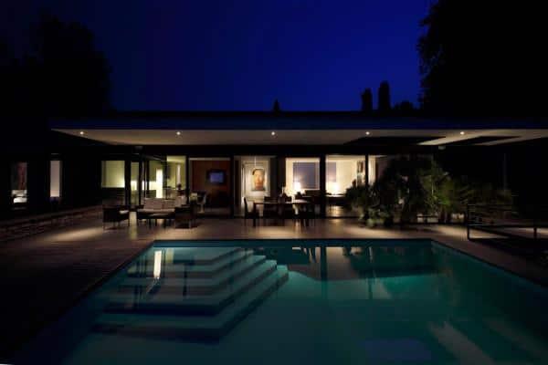 Minimalist Swiss Villa by Bruno Klauser