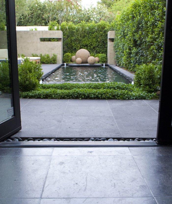 Minimalist garden design ideas for trendy homes founterior - Gardening for small spaces minimalist ...