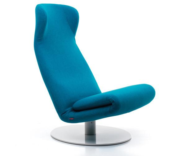Adjustable relaxing lounge chair design by mussi founterior for Minimalist lounge