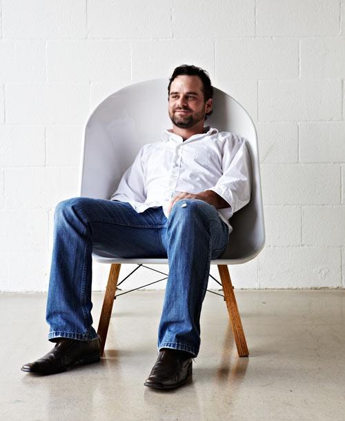 Modern chair design by Karl Sanford