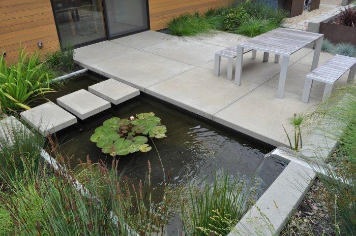 Modern and Minimalist garden ladnscape design ideas for outdoor spaces.