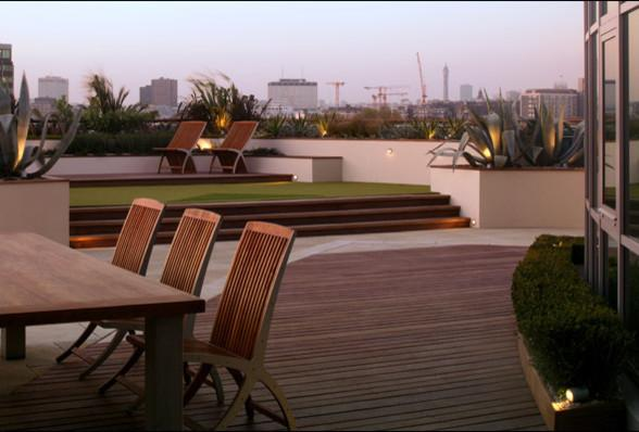 Split Roof Design: Minimalist Garden Design Ideas For Trendy Homes