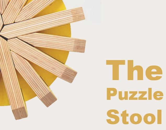 Creative Modular Stool Design - The Puzzle Stool